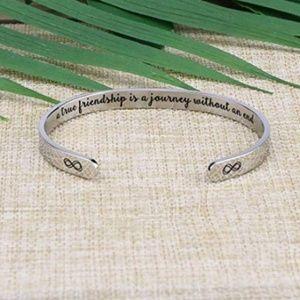 True Friendship Inspirational Bracelet